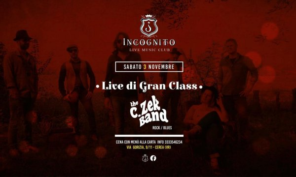 The C.Zek Band - Live a Incognito Music & Dinner