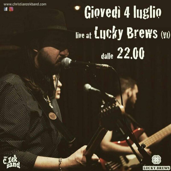 The C.Zek Band - Live at Lucky Brew