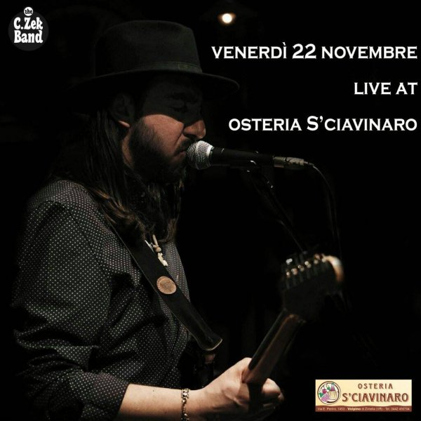 The C.Zek Band  Live in Osteria S'ciavinaro